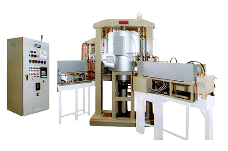 Automatic hot press furnace