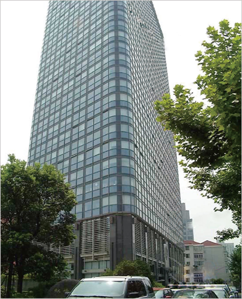 Shanghai subsidiary company in China