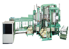Automatic sintering hot press furnace