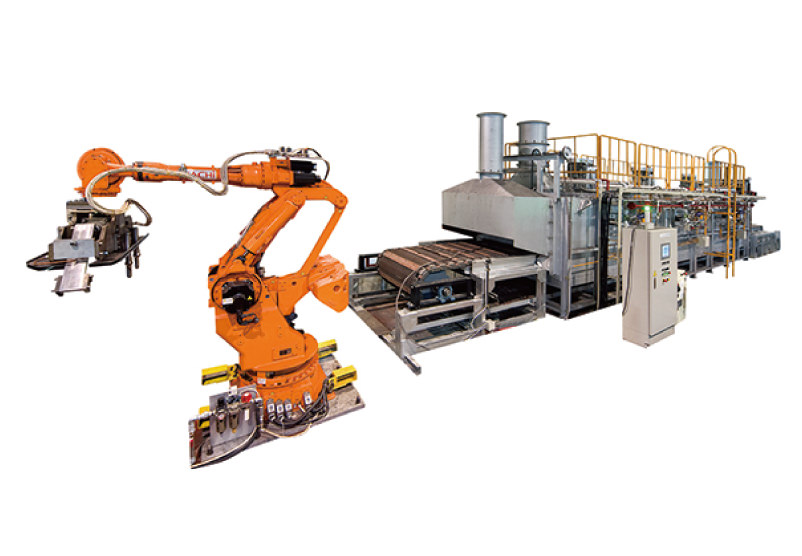 Conveyance robot for metal product